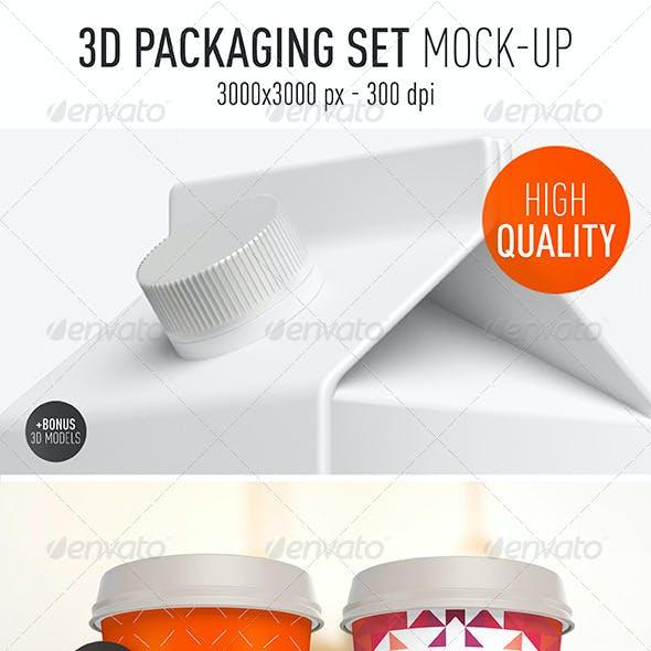 Packaging Set Mock-Up