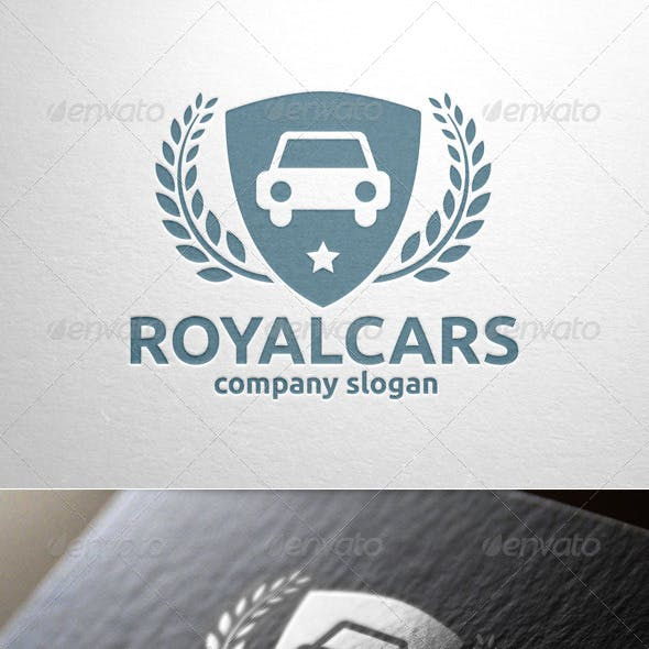Royal Cars Logo Template