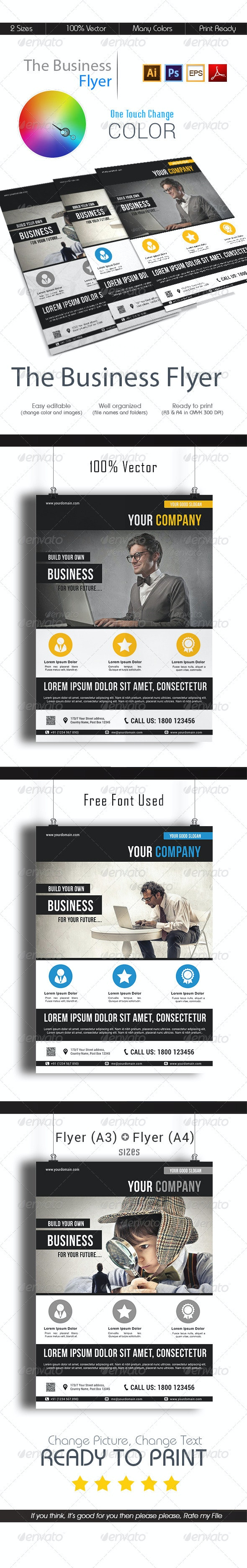 The Business Flyer - Corporate Flyers