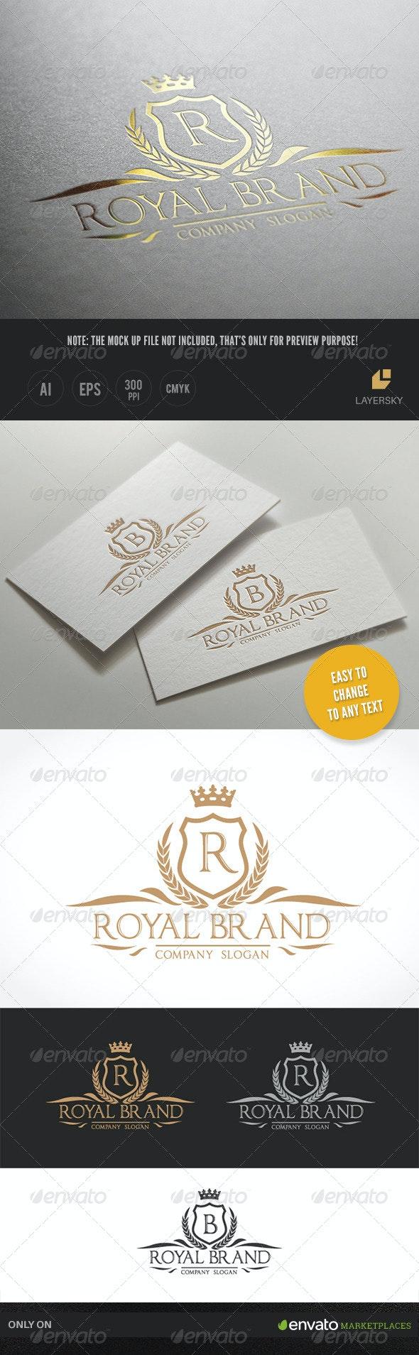 Royal Brand II - Crests Logo Templates