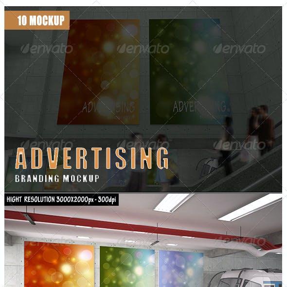 Advertising Branding Mockup