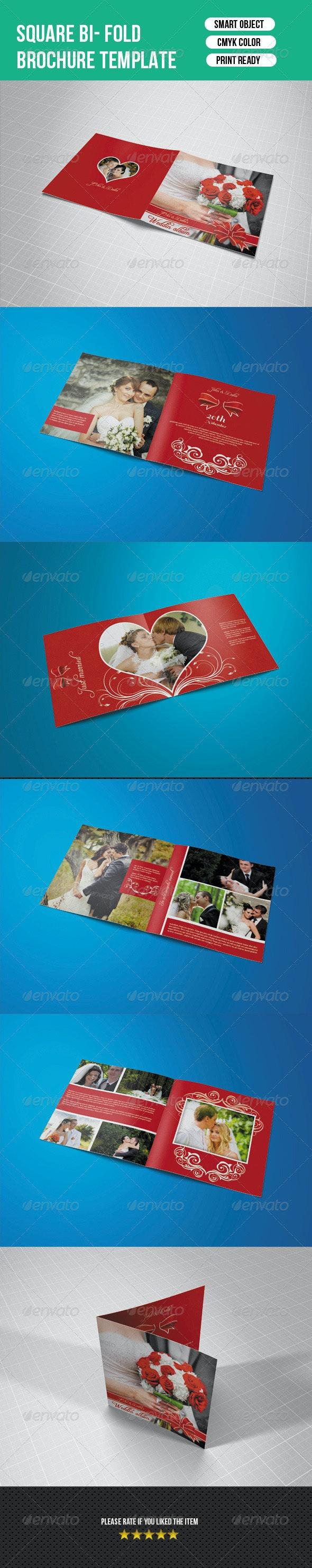 Square Photo Album-V02 - Photo Albums Print Templates