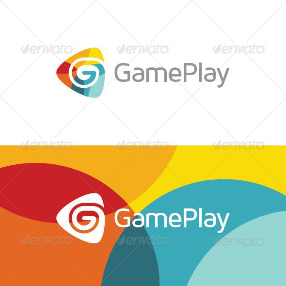 Game Play - Letter G Logo