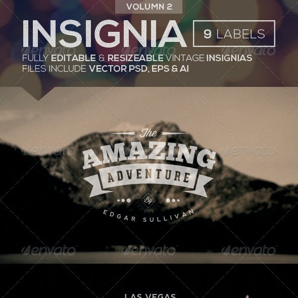 Vintage Logo Insignias Vol 2