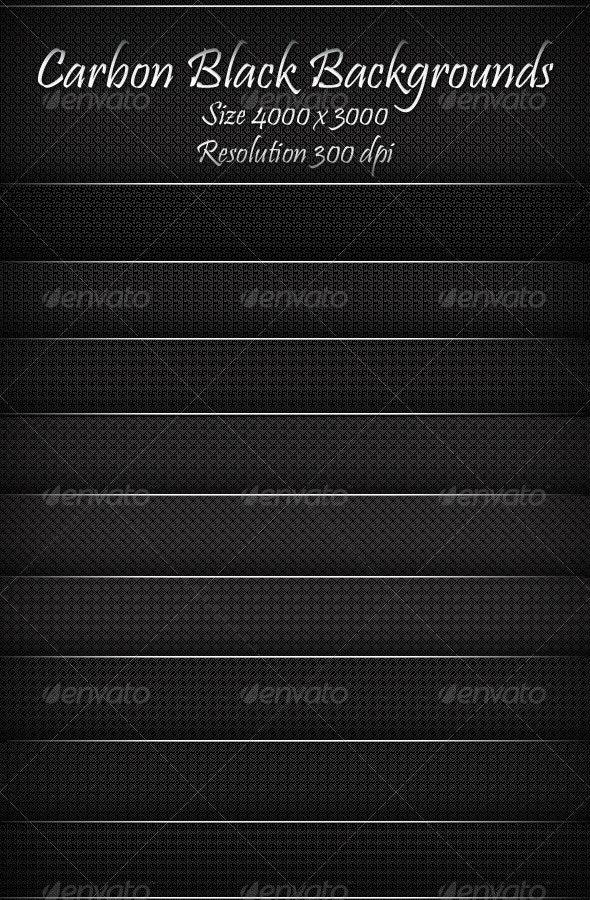 Carbon Black Backgrounds - Patterns Backgrounds