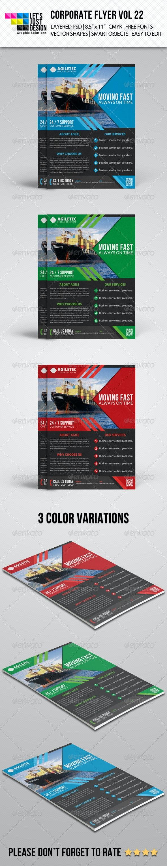 Corporate Flyer Template Vol 22 - Corporate Flyers