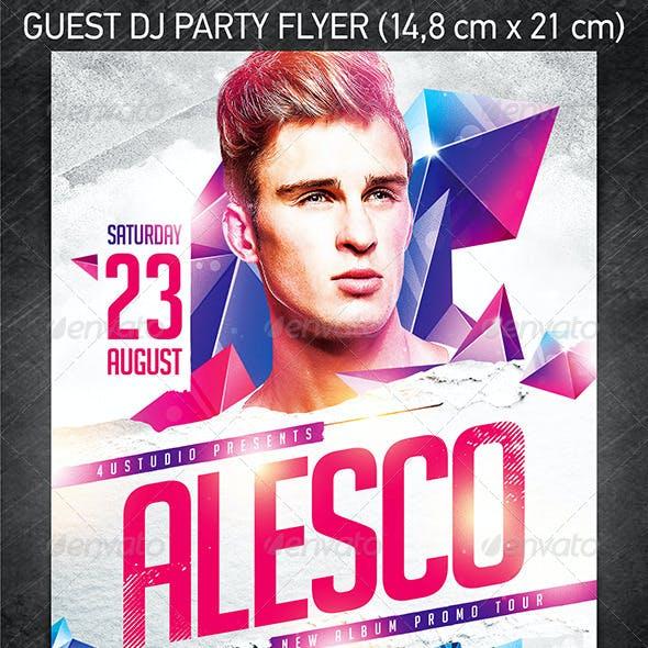 Guest DJ Party Flyer vol.5