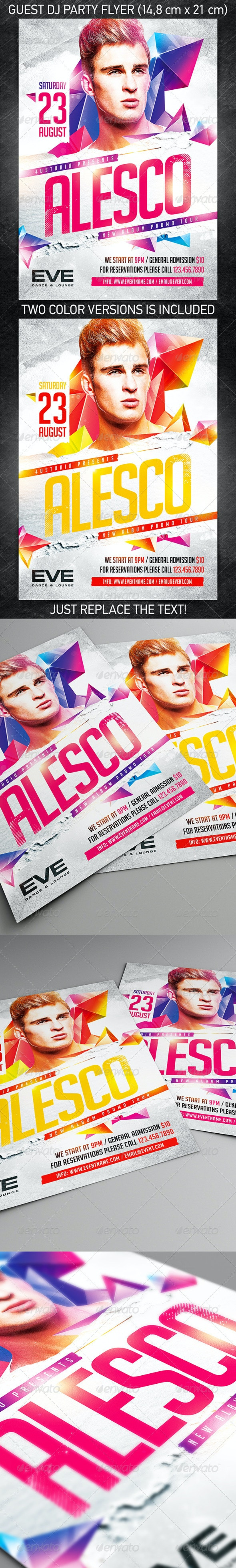 Guest DJ Party Flyer vol.5 - Clubs & Parties Events