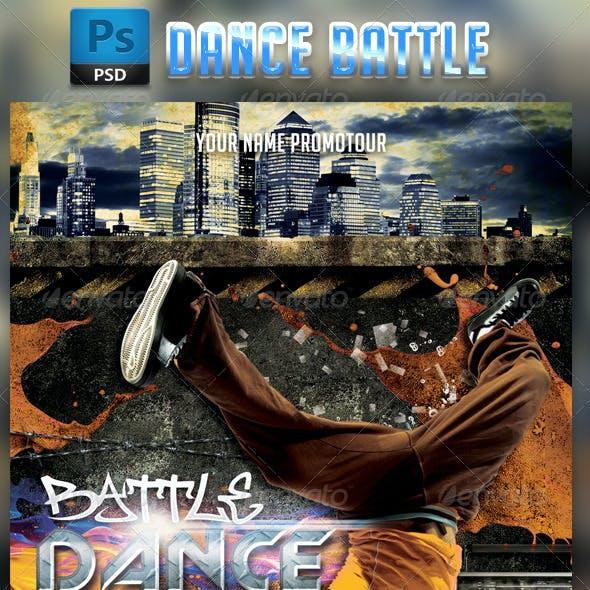 Dance Battle Flyer