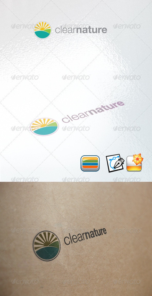 Clearnature - Nature Logo Templates