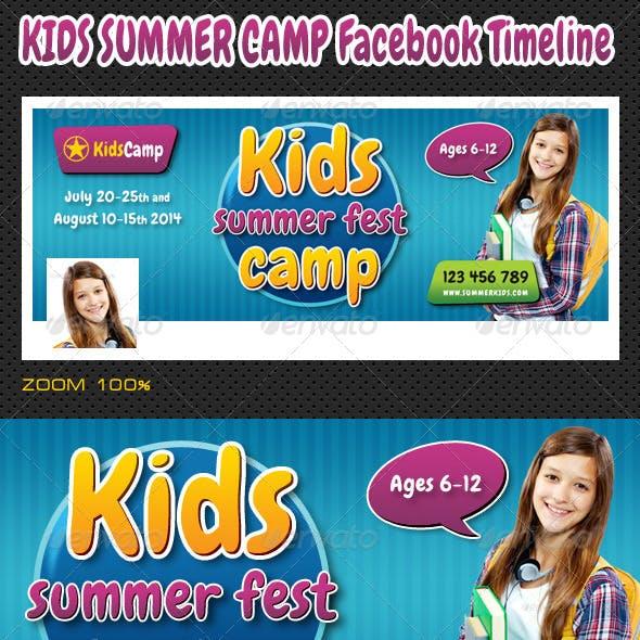 Kids Summer Camp Facebook Timeline