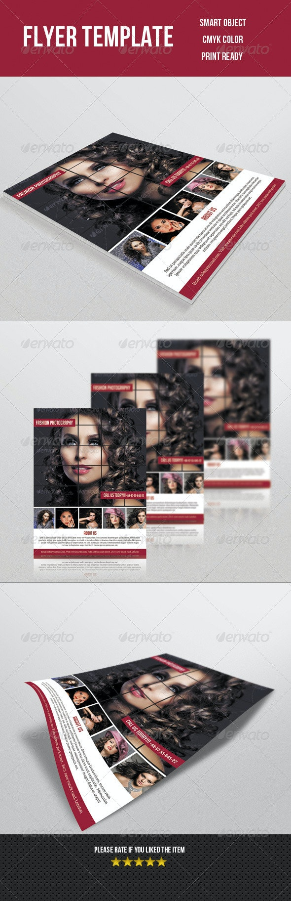 Fashion Photography Flyer - Print Templates