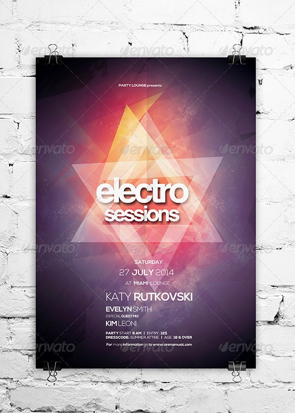 Electro Sessions Vol. 04 - Clubs & Parties Events