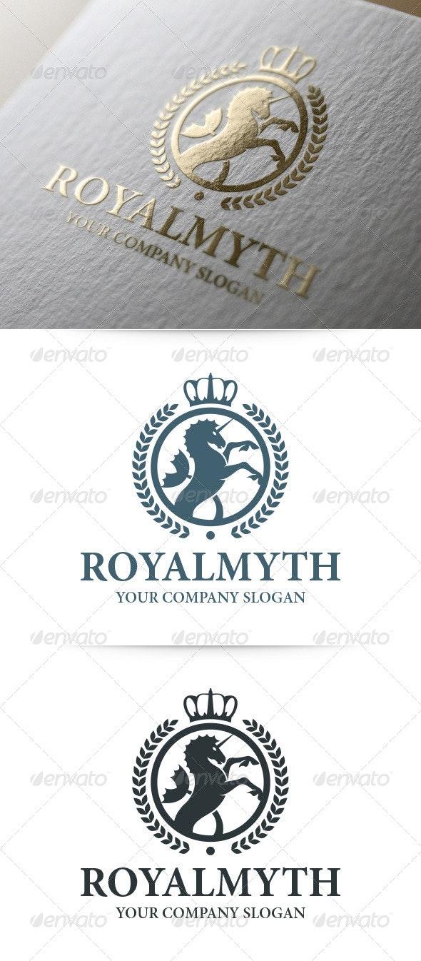Royal Myth Logo Template - Crests Logo Templates