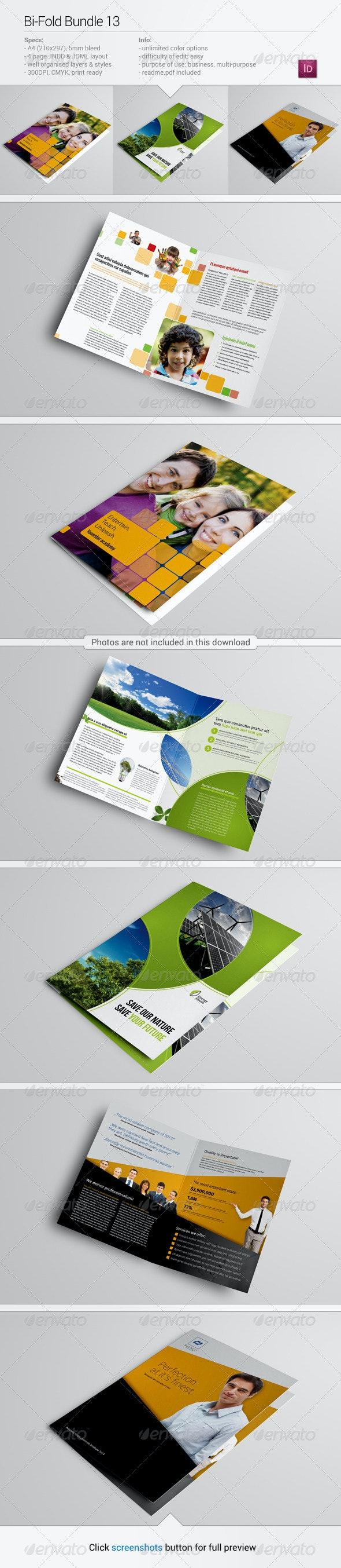 Bi-Fold Bundle 13 - Corporate Brochures