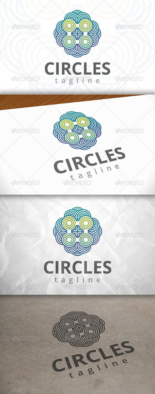 Abstract Circles Logo - Abstract Logo Templates