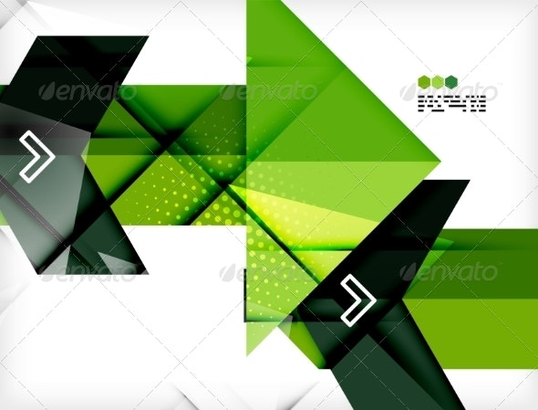 Futuristic Modern Background - Abstract Conceptual