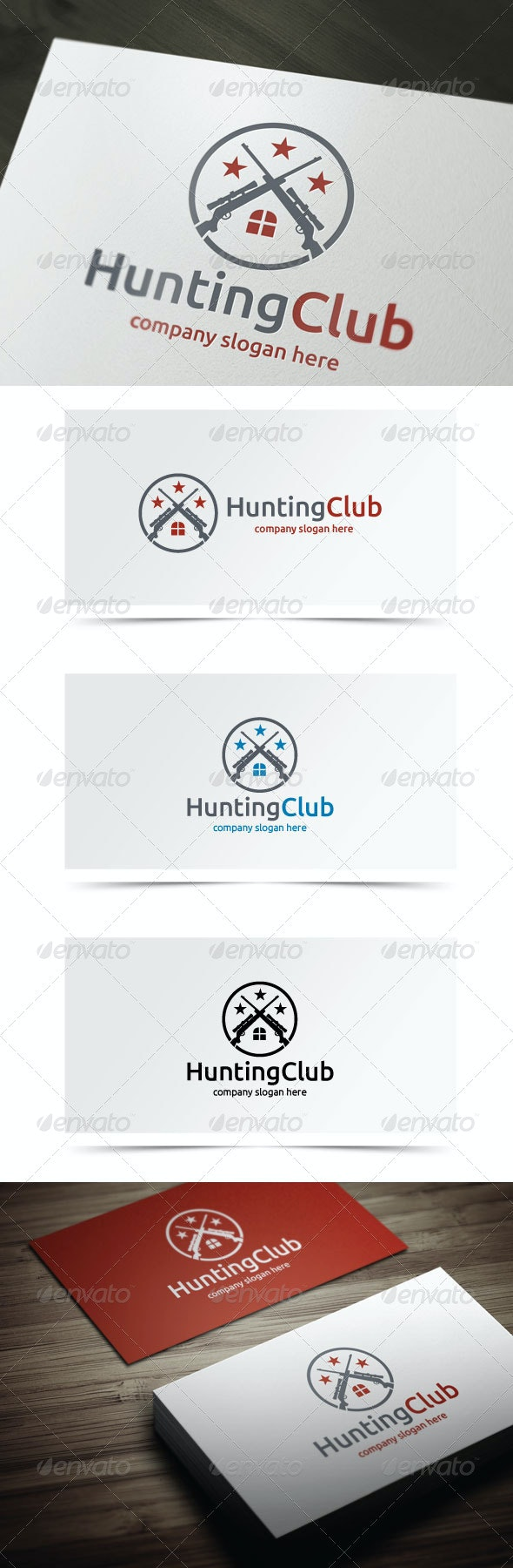Hunting Club - Objects Logo Templates