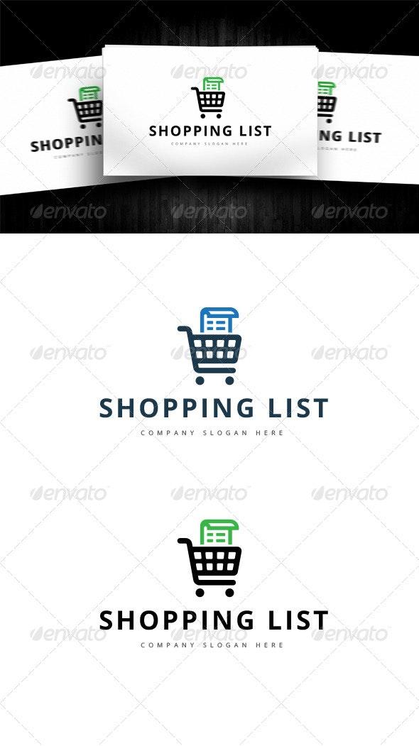 Shopping List - Logo Templates