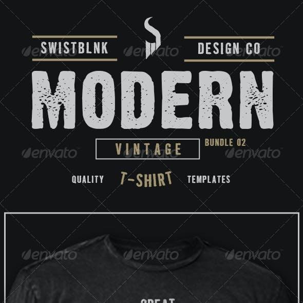 Modern Vintage T-Shirt Bundle 02
