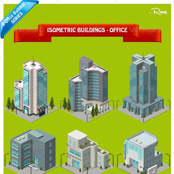 Isometric Building - Office