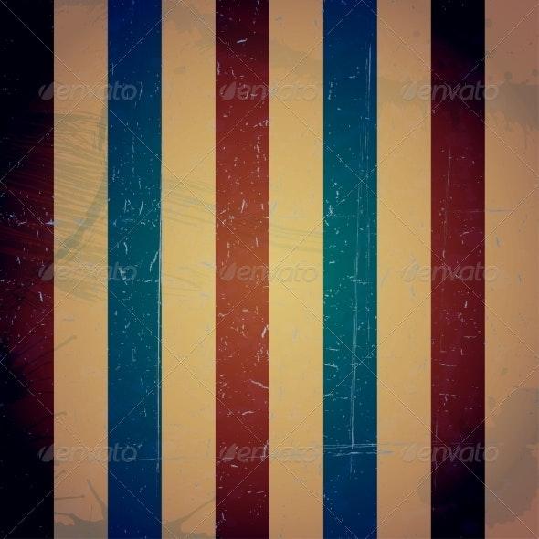 Colored Striped Vintage Texture Grunge Background - Patterns Decorative