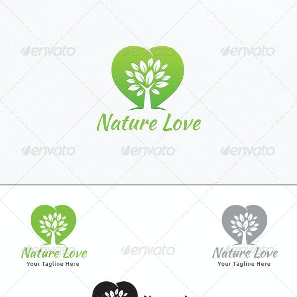 Nature Love - Logo Template