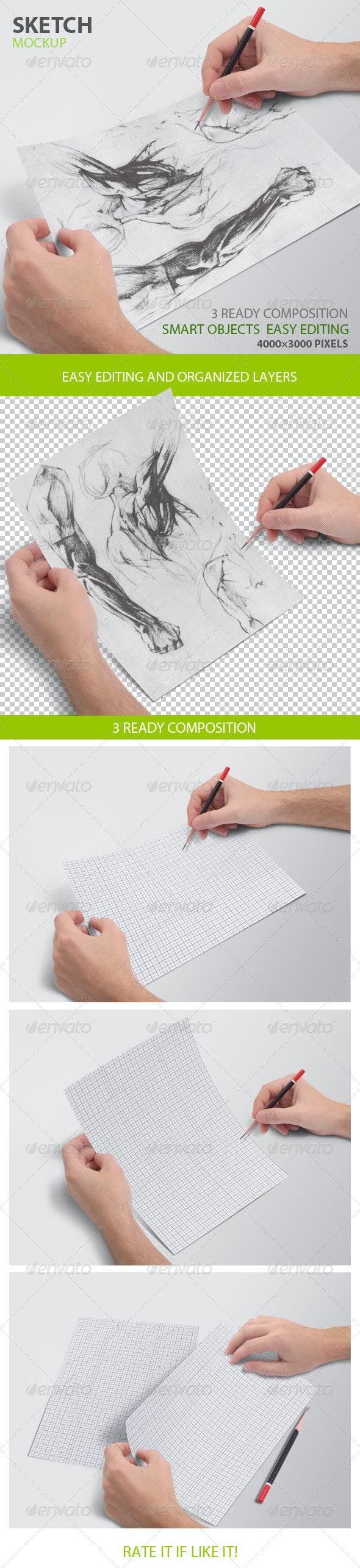 Sketch mockup - Miscellaneous Print