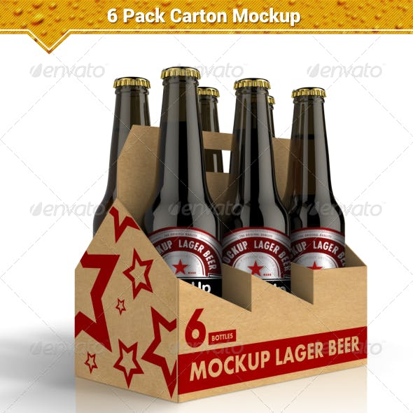 Beer Mock Up And Case Graphics Designs Templates