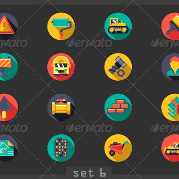 Construction Flat Icons