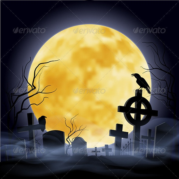 Cemetery - Backgrounds Decorative