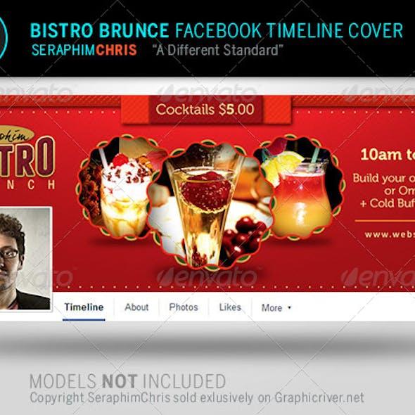Bistro Brunch Facebook Timeline Cover Template