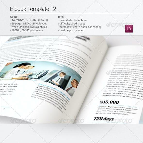 E-book Template 12