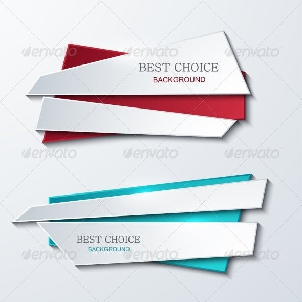 Vector Modern Banners Element Design