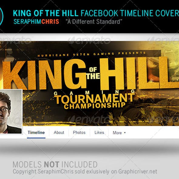 King of the Hill Facebook Timeline Cover Template
