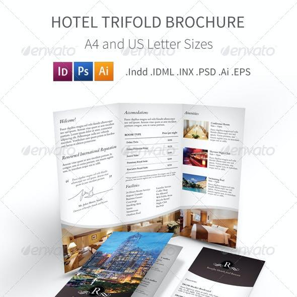Hotel Trifold Brochure