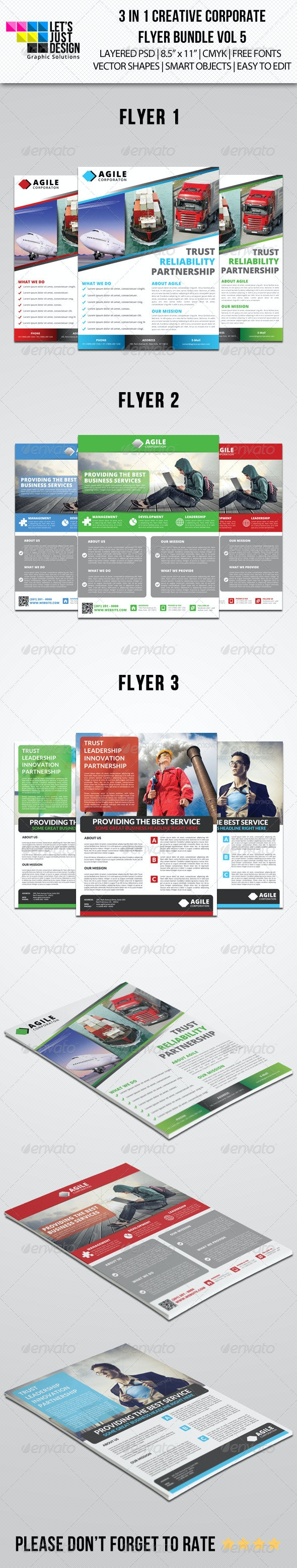 Creative Corporate Flyer Pack Vol 5 - Corporate Flyers
