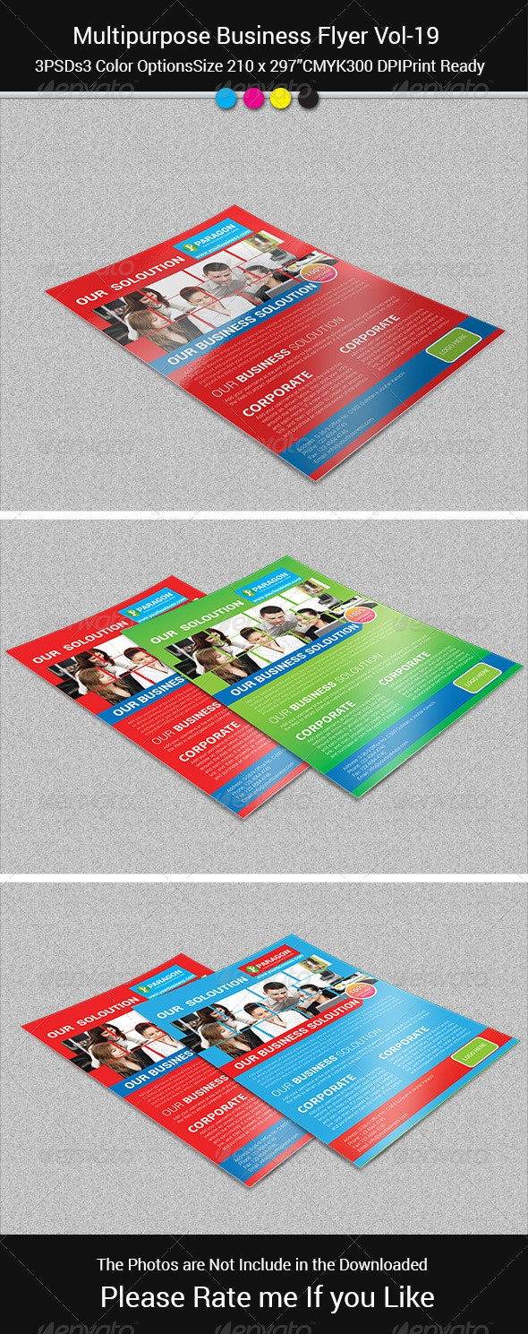 Multipurpose Business Flayer Vol-19 - Corporate Flyers