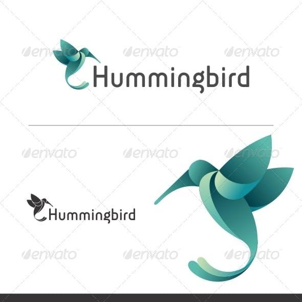 Flying Hummingbird Logo