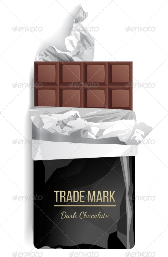 Chocolate Bar - Food Objects