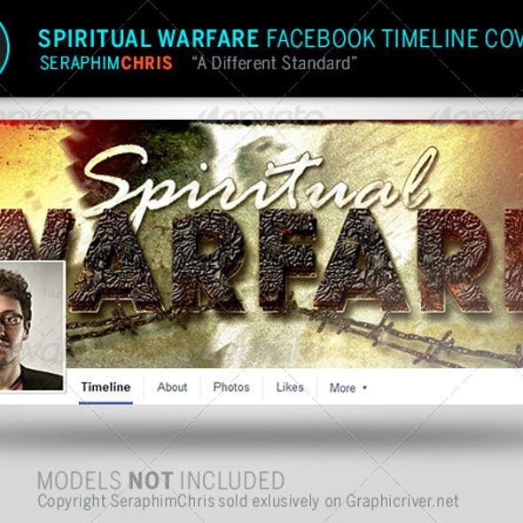 Spiritual Warfare Facebook Timeline Cover Template