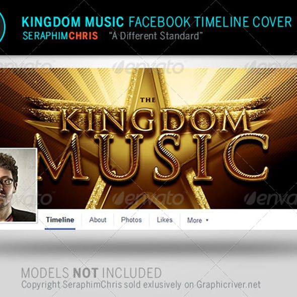 Kingdom Music Facebook Timeline Cover Template