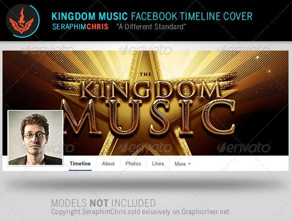 Kingdom Music Facebook Timeline Cover Template - Facebook Timeline Covers Social Media