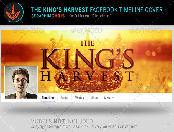 The King's Harvest Facebook Timeline Template - Facebook Timeline Covers Social Media