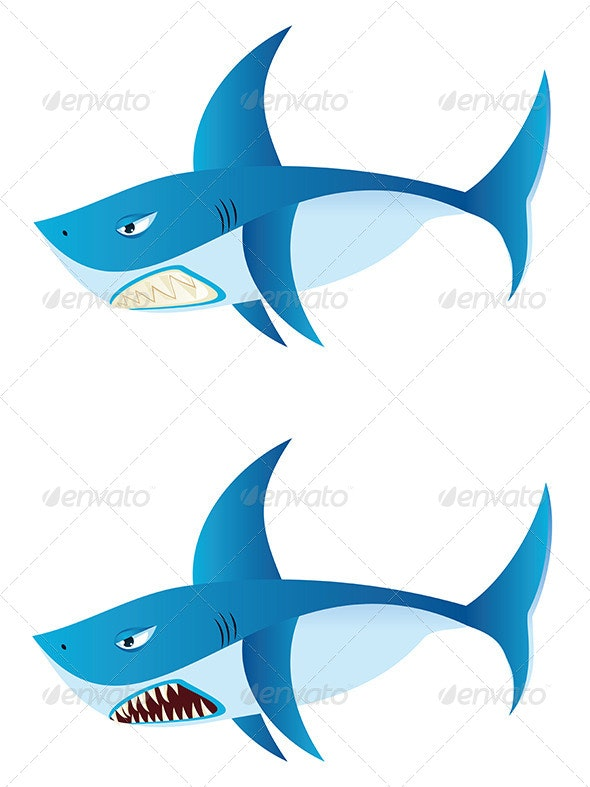 Great White Shark - Animals Characters