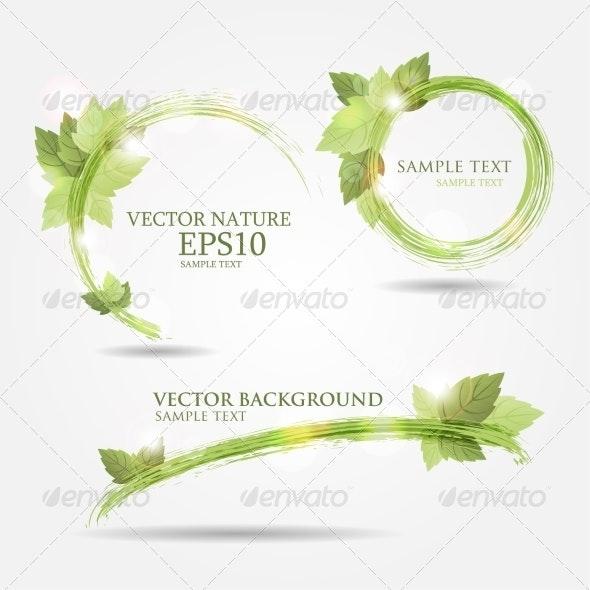 Floral Banners - Miscellaneous Vectors