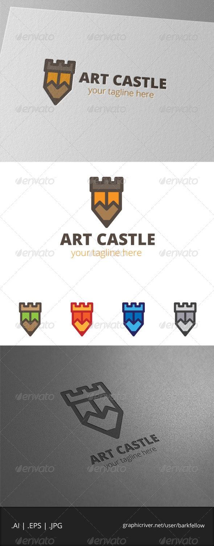 Art Castle Logo  - Symbols Logo Templates