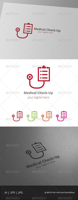 Medical Check-Up Logo - Symbols Logo Templates
