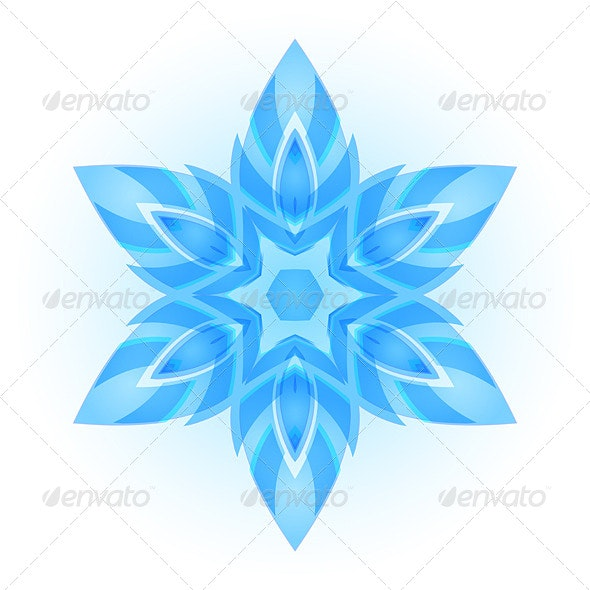 Snowflake - Patterns Decorative