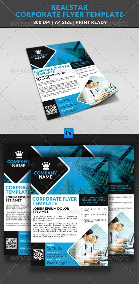 Corporate Business Multipurpose Flyer Template 9 - Corporate Flyers